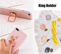 metall-handy-halter großhandel-Neue Spinner Ring Halter Metall Zappeln Spinner Portable Mini Halter Stand für Handy