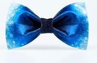 Wholesale Masterpiece Men - 2017 Blue bow tie original white snowflake printing casual Korean version of the retro groom comrades presided over the masterpiece creative