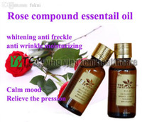 Wholesale Superfine quality ml bottle natural Rose compound essentail oil whitening skin anti freckle anti wrinkle