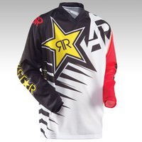 Wholesale Mountain Moto - Hot sell! FOR ANSWER RockStar moto Jersey MX MTB Off Road Mountain Bike DH Bicycle Cycling Jersey DH BMX motocross jersey
