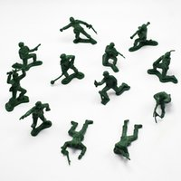 Wholesale Green Army Figures - 120PCS LOT New Arrival 12pcs different The second world war Army Corps Model Action Figure Toys for Boys Favorite Gift wholesale