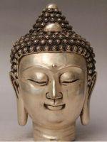 ingrosso sculture di arte del buddha-Modern Art Sculpture Figurine decorazione bronzo factory outlet Tibet Argento 9