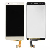 Wholesale Cell Phone Glass Lcd Screens - Huawei Honor 7 LCD Display+Touch Screen Digitizer Glass Panel Black And White Cell Phone LCD Touch Screen Free shipping