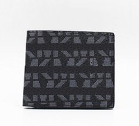Wholesale Designer Mens Wallet Long - New Arrival Leather Wallets For Mens Designer Letter Bifold Money Purse High quality Cluch Cente Party Traver Wallet