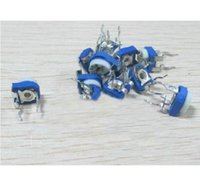 Wholesale Assorted Trim - Wholesale-100 To 1M ohm Single-Turn Trimming Potentiometer Variable Resistors Assorted 13 Kinds Each 5pcs