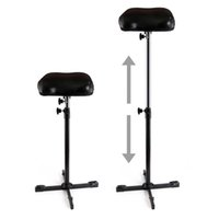 Wholesale Tattoo Supply Frames - Solong Tattoo New Heavy Duty Iron Tattoo Armrest Leg Rest Full Adjustable Hand Holder Frame Standing Chairs Tattoo Supply Accesorries TA211