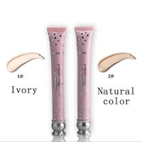 Wholesale 2017 Waterproof Bright White Pink BB Cream Princess Magic Wand Ivory or Natural Color Long Lasting Liquid Foundation