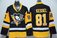 Wholesale Penguin For Sale - Penguins Hockey Apparel #81 Kessel Brand Hockey Apparel Champion Jerseys Patch Stitch New Collection Hockey Wears For Sale