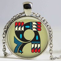 Wholesale Wholesale Native American - 1pcslot Native American Pendant Necklace Jewelry Southwestern Jewelry Kokopelli Fashion Handmade Vintage Necklace