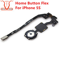 Wholesale Return Mobile Phone - For iPhone 5S Home Button Return Key Menu Keypad Flex Cable Replacement Repair Parts Spare Part for Mobile Phone Apple iphone 5 s
