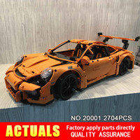 Wholesale New LEPIN B Technic series Super Race Car Model Building Kits Blocks Bricks Compatible Boys Gift
