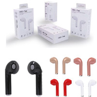 Wholesale New For Iphone - New Arrival HBQ I7 TWS Twins Mini Bluetooth Earbud Wireless Invisible Headphones Headset With Mic Stereo V4.2 Earphone for Iphone Android