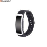 Commercio all'ingrosso - Braccialetto sportivo 8GB Digital Voice Recording Bracciale Audiolibro VAR Wristband Lettore MP3 Digitale Dictafono Espia Gravador