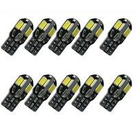 luzes led de ônibus venda por atacado-CAN BUS T10 2W 8 LED SMD 8SMD 5730 5630 Cool White / Warm Branco Light Wedge Base w5w 168 Lâmpada Dome 12V