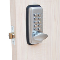 Wholesale Mechanical Door Locks - ML01SP Mechanical Password Door Lock,Code Lock, Combination Lock,Zinc Alloy,Silvery