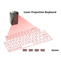 Wholesale Mini Bluetooth Laser Mouse - Bluetooth Wireless Mini Portable Laser Virtual Projection Keyboard And Mouse To For Tablet Pc In Stock!!