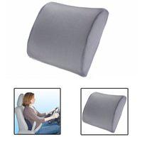 Wholesale Memory Foam Waterproof - Memory Foam Lumbar Back Support Cushion Pillow Home Car Auto Office Seat Chair