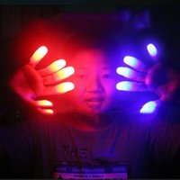 Wholesale Toys For Chistmas - LED Bright Finger Lights Glow LED Fingers Toys Led Finger Light Finger Lamp Light for Chistmas decoration Toy