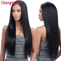 Wholesale black hair weave hairstyles for sale - 2017 Popular Hairstyles Cheap Brazilian Straight Virgin Human Hair Bundles Remy Hair Extensions Hot Peruvian Hair Weave Color Black