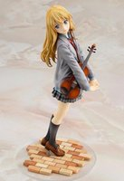 Wholesale finish packing - action figure your lie in april kaori miyazono cartoon doll PVC 20cm box-packed japanese figurine world anime