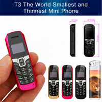 Wholesale small mp3 cell phone for sale - Group buy Original LONG CZ T3 smallest thinnest mini mobile phone bluetooth dialer Phonebook SMS music sync FM magic voice cell phone