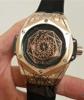 Wholesale King Japan - 2017 Brand luxury Mens Watches big bang king geneve japan quartz movement rubbler belt Limited Edition Lebron skull Men Watches Wristwatch