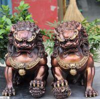 perro chino estatua de león al por mayor-12