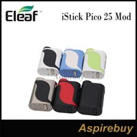 Wholesale Interface Boxes - Eleaf iStick Pico 25 Mod 85W Pico 25 TC Box Mod 2A Quick Charge Big 0.91-Inch Screen with Optional Interfaces Compact Stylish 100% Original