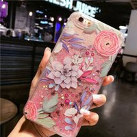 Wholesale Iphone S Cell - Ins the most popular cell phone about flamingo case for Iphone 6 S plus and 7 plus