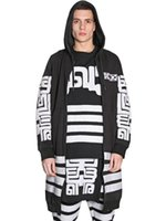 Wholesale Rocky Hoodie - Wholesale- Long Hoodies and Sweatshirts Men Rocky Wearing KTZ Church Printed Chandal Hombre Fleece Zipper Uploaded Men Hoodies
