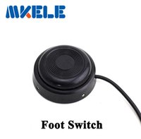 Wholesale Power Push Switch Off - MKYDT1-8017 high accuracy on off round Foot Push Switch ,Two Inline Lamp Foot Push Switch Power Light Foot Switch free shipping