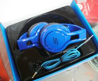 Wholesale Sms Audio Sync Wireless Red - SMS-818 Audio SYNC Wired STREET by 50 Cent Headphone For Phones Laptop MP3 MP4 Computer iPad iPod Tablet Best Value Headset Sport Earphones