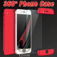 Wholesale Red Body Armor - Luxury 3in1 Armor Case 360 Degree Full Body Protection Case Back Cover For Iphone X 8PLUS 6S Plus 7 7 Plus Galaxy S7 Edge S8 S8 Plus NOTE 8