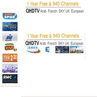 Wholesale Vod Tv - Android APK QHDTV VOD European IPTV Account 1 Year with panel without tv box