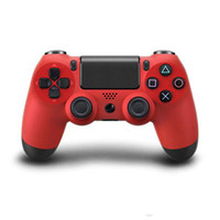 Wholesale PS4 Wireless Game Controller ps4 wireless bluetooth game controller joystick gamepad PlayStation joypad for Video Games free drop shipping