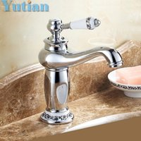Wholesale Ceramic Toilets Basins - Wholesale- Free shipping New Chrome bathroom basin faucet kitchen faucet single handle mixer tap toilet brass banheiro torneira YT5068