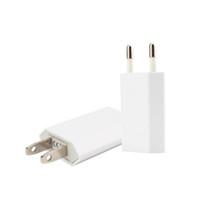 зарядные устройства для iphone оптовых-ЕС США Канада Plug USB питания Главная стены зарядное устройство адаптер для iPhone Samsung и других смартфонов