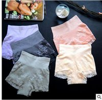 Wholesale Lace Slimming Pants For Women - Munafie seamless underwear pants waist abdomen buttock postpartum figure beauty slimming pants lace second generation underswear for women
