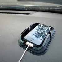 Wholesale Sticky Dash Pads Car - Wholesale-GPS Anti Slip Car Magic Grip Sticky Pad Anti Non Slip Mat Dash Cell Phone Holder Automobiles Interior Accessories