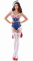 ingrosso divertente halloween costumi donne-le donne marinai si adatta alle divise sexy dei giochi uniformi tentazione costumi DS Cosplay uniformi Fun Fun