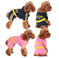Wholesale Pet Apparel Print - Pet Dog Clothes For Dogs Winter Clothing Cotton Dog Clothes Costume Sweatshirts Angel Print Coat Apparel Puppy Sports Clothes