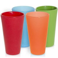 Wholesale tools cut glass resale online - Beer Mug Food Grade Silicone Unbreakable Outdoor Portable Tea Coffee Cup Solid Color Gargle Cups Drink Tool hy F R