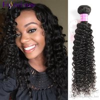 Wholesale Low Priced Virgin Indian Hair - Top Quality Fastyle Malaysian Kinky Deep Curly Extensions UNPROCESSED Mink Brazilian Peruvian Indian Virgin Human Hair Bundles Low Price