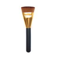 escova extravagante venda por atacado-Wholesale-2016 New Trendy Fashion 1pc Professional Cosmetic Flat Contour Brush Fancy Big Face Blend Maquiagem Beleza Ferramenta Drop Shipping