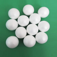 Wholesale 67mm Star - Wholesale-12 X White Round Polystyrene Styrofoam Foam Balls Sphere Christmas Decoration DIY Craft Xmas Ornament 67mm Dia