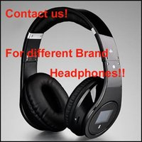 Wholesale Hot New Headphones - HOTTEST BQ-968 Bluetooth Wireless Headphones Contact US For 2014 2015 New Wireless 2.0 Headphones DHL free shipping