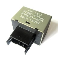 Wholesale Piece Toyota - This auction features for a piece of Electronic 12V 150W LED Flasher Relay Fix for most newly Lexus or Toyota standard thermal flasher for T