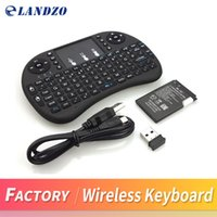 Wholesale raspberry pi keyboard Mini Wireless Keyboard G with Touchpad Handheld
