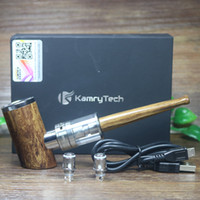 ingrosso tubo di sigaretta elettronico mod-All'ingrosso 100% autentico Kamry K1000 più e-pipe 1100mah mod 30W Con 4ml sub ohm serbatoio di avviamento kit vaporizzatore sigaretta elettronica narghilè