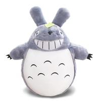 Wholesale soft stuffed animals for babies online - cm Cartoon Movie My Neighbor Totoro Cat Miyazaki Plush Soft Doll Animal Stuffed Toy For Baby Kids Gifts